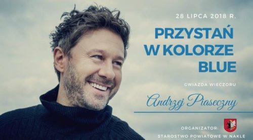 """Kolejna edycja """"Przystani w kolorze Blue"""" 28 lipca. Gwiazdą będzie Andrzej Piaseczny"""