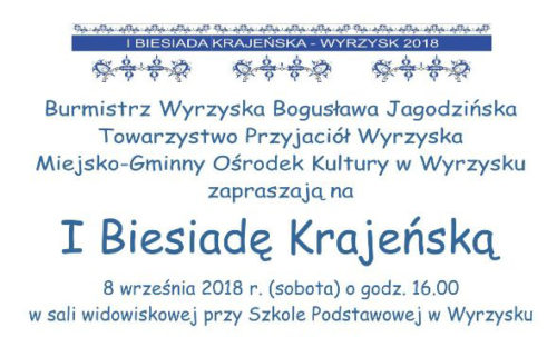 I Biesiada Krajeńska w Wyrzysku. Wydarzenie 8 września przy szkole podstawowej