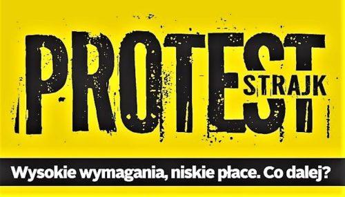 Strajk nauczycieli w gminie Nakło. Wiemy jak wygląda sytuacja po przerwie świątecznej