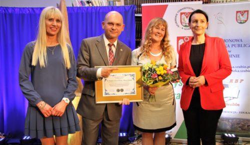 Hanna Zawadzka-Pleszyńska jest tegoroczną laureatką Honorowego Medalu im. ks. Jana Kleina