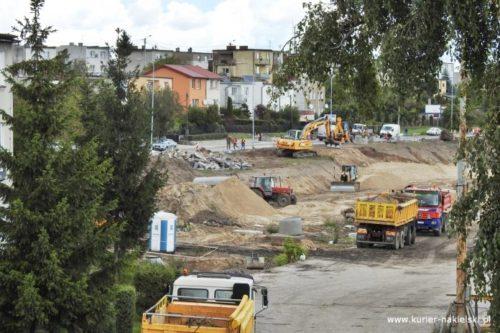 Budowa Parkingu Park & Ride w Nakle. Prace trwają