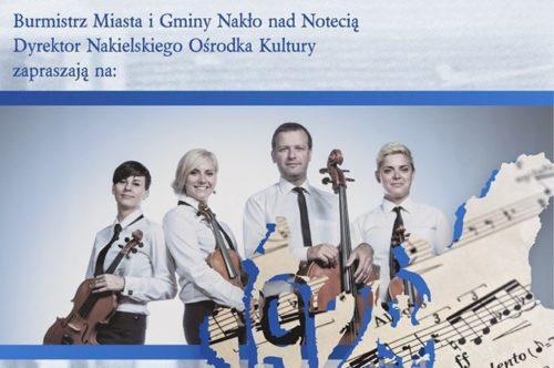 Kwartet Prestige z koncertem na setną rocznicę powrotu Nakła do macierzy