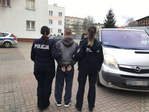 Areszt dla 28 letniego mieszkańca Mroczy