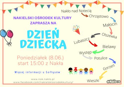 Nakielski Ośrodek Kultury wydłuża Dzień Dziecka. Zaprasza do wspólnej zabawy.