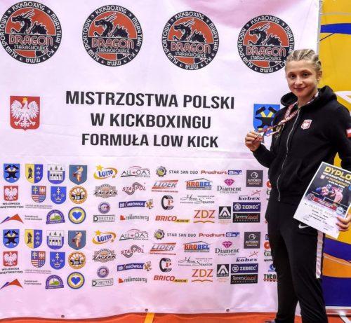 Magdalena Niemyjska brązową medalistką mistrzostw Polski w kickboxingu