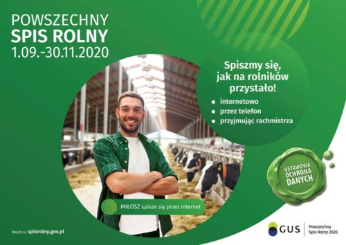 Spis rolny w gminie Nakło. Statystyki nie są najlepsze