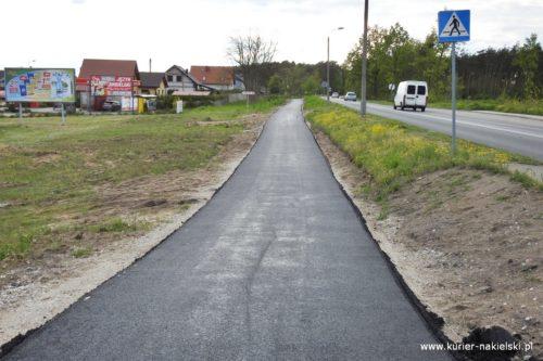 Kolejna ścieżka  pieszo-rowerowa w gminie Nakło nad Notecią na ukończeniu